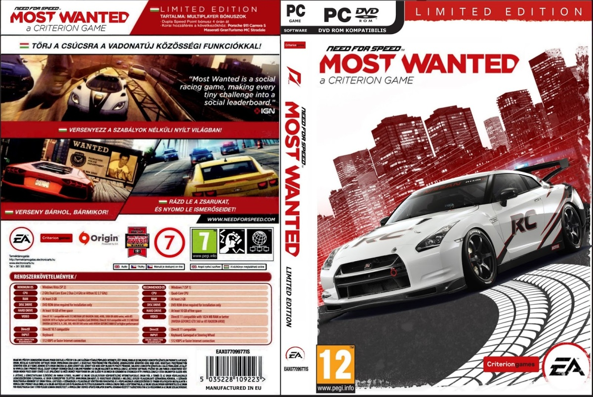 need for speed most wanted download utorrent 2012